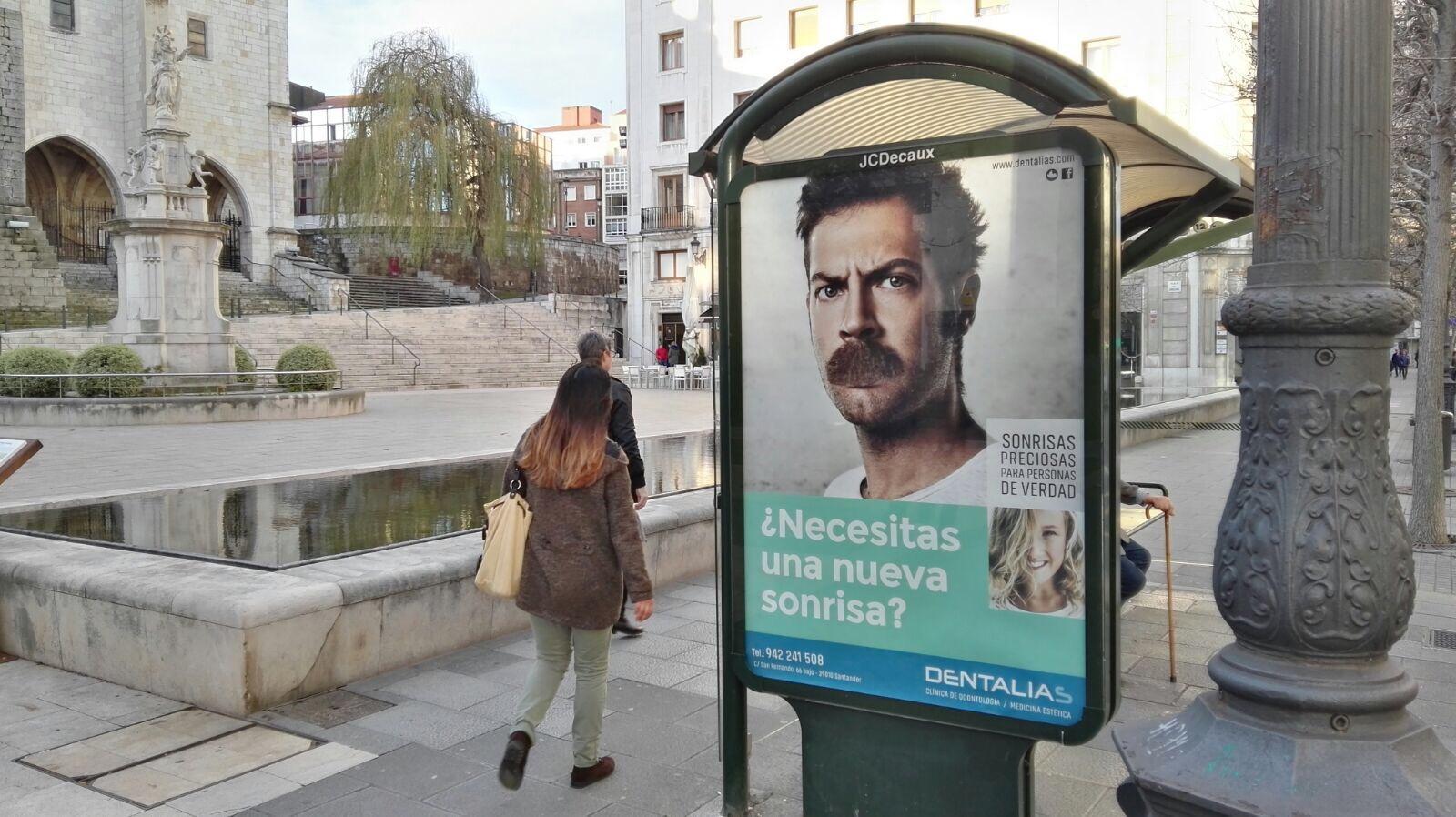 Campaña en Marquesinas de Santander