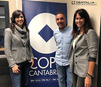 RUBÉN, MARTA Y SUSANA, HOY, EN COPE CANTABRIA